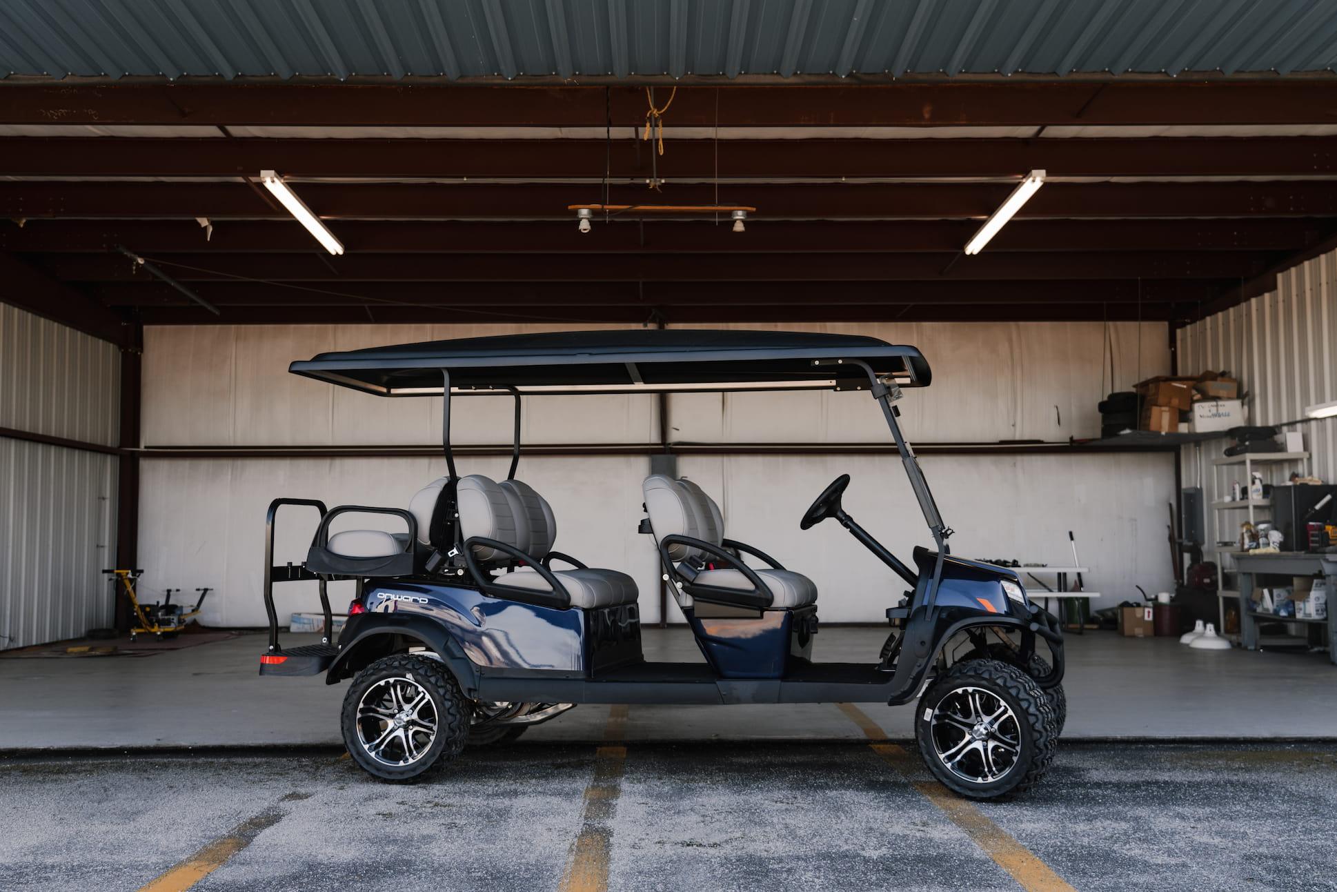 Extra long new golf cart | Statesboro Golf Carts | Golf Carts for sale
